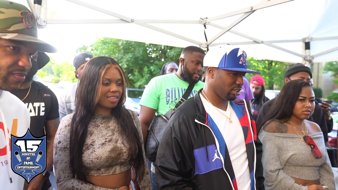 JAZ THE RAPPER AND OTHERS REACT TO CLIPS AND GEECHI FREESTYLES DURING THEIR BATTLE AT SMX
