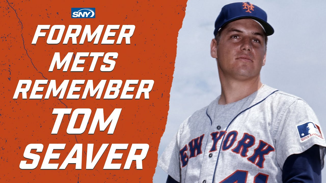 LIVE: Former Mets share their feelings on the passing of Tom Seaver   New York Mets   SNY