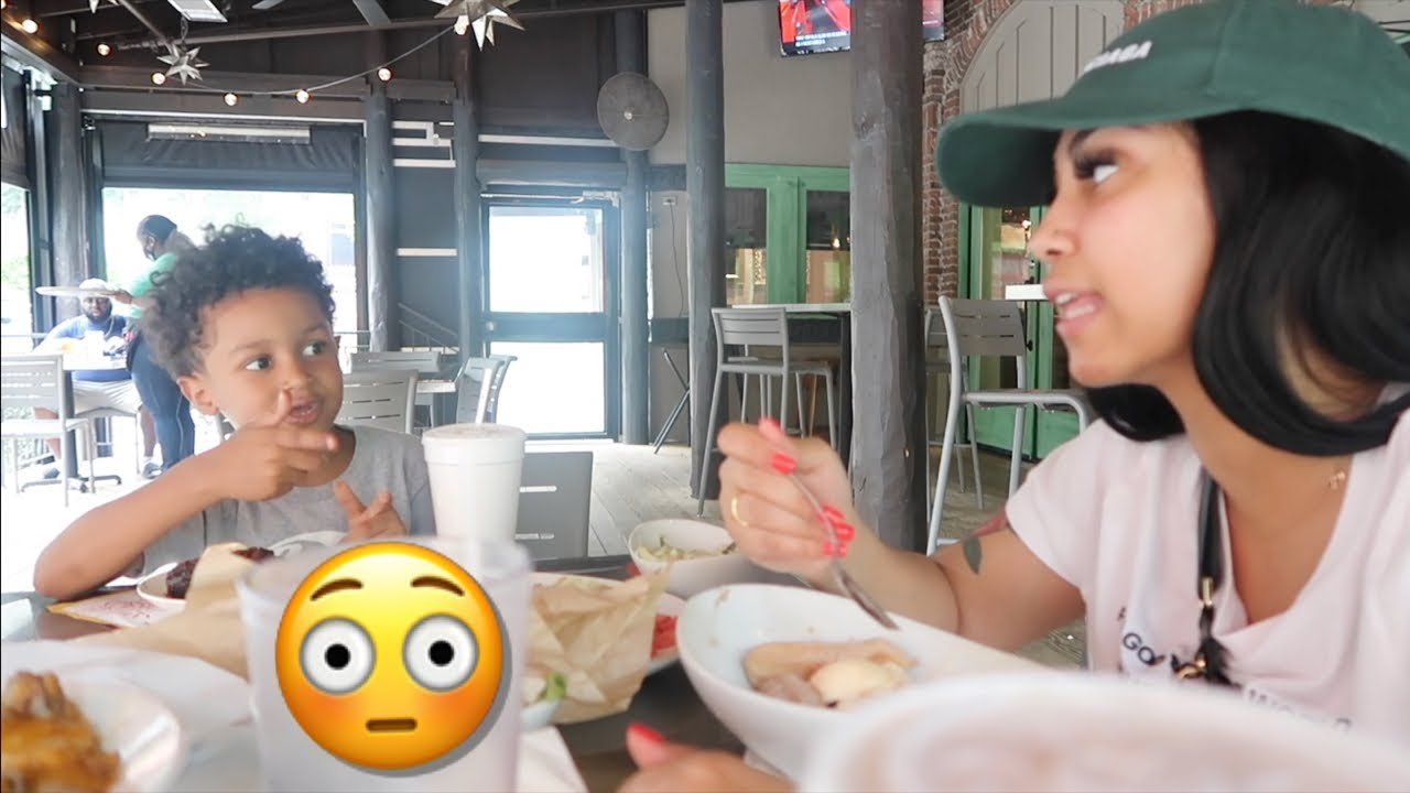 MY 5 YEAR OLD SON TOLD ME THIS!!! (MOMMY AND SON VLOG)