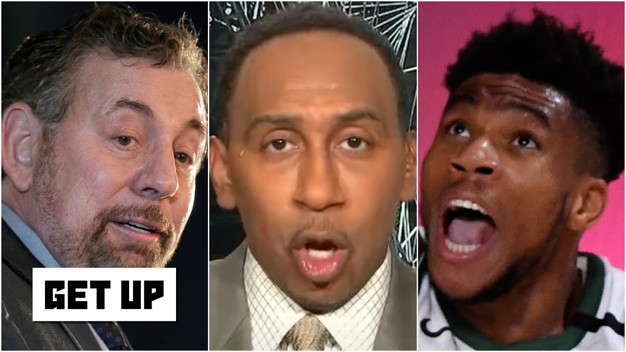 'No way in hell' does Giannis leave the Bucks for the Knicks - Stephen A.   Get Up