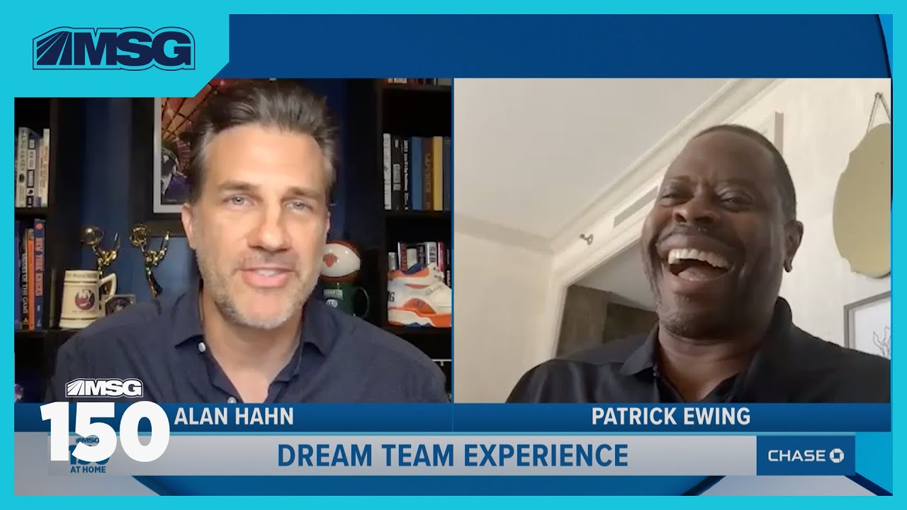 Patrick Ewing Talks Favorite Knicks Memories From 1985 Draft To Best Playoff Moments   MSG 150