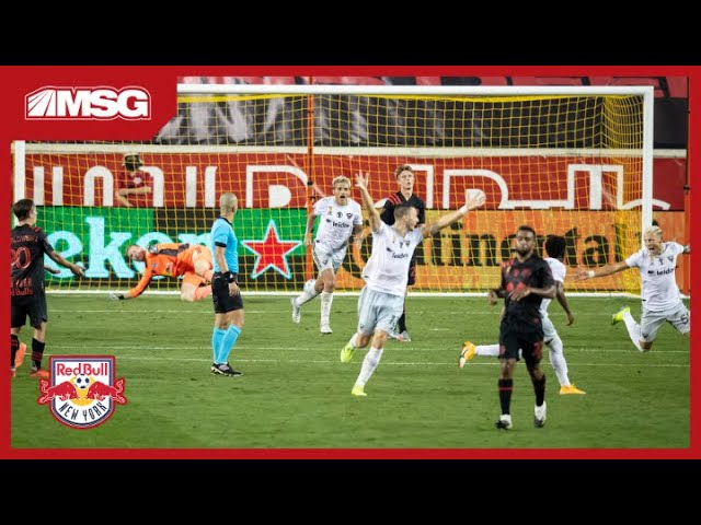 Ryan Meara Stays Strong But Extra Time Goal For United Brings Red Bulls Down | New York Red Bulls