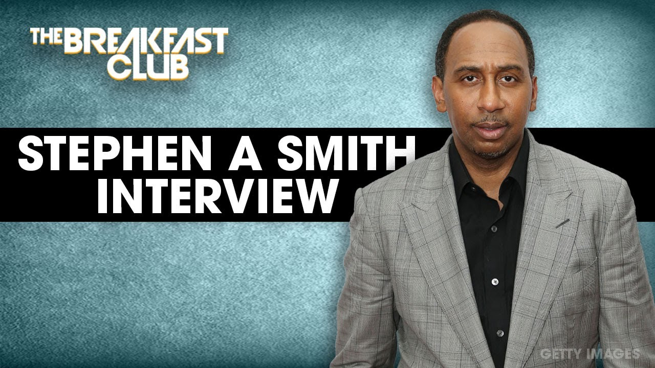 Stephen A Smith Talks LeBron James, Women In Media, HBCU Week + More