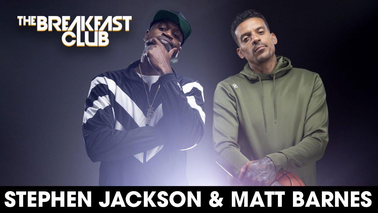 Stephen Jackson & Matt Barnes On 'All The Smoke' Podcast, Clippers' Curse, Kobe Bryant + More