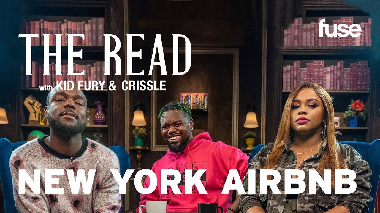 The Luxurious NYC Housing Authority AirBnB   Hot Tops   The Read with Kid Fury & Crissle   Fuse