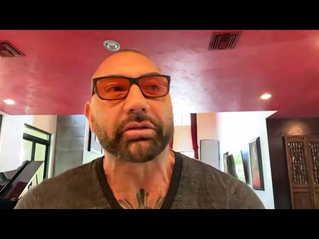 The Talk - Dave Bautista On New 'Gentleman Hooligan' Tattoo, Says 'it sums me up'
