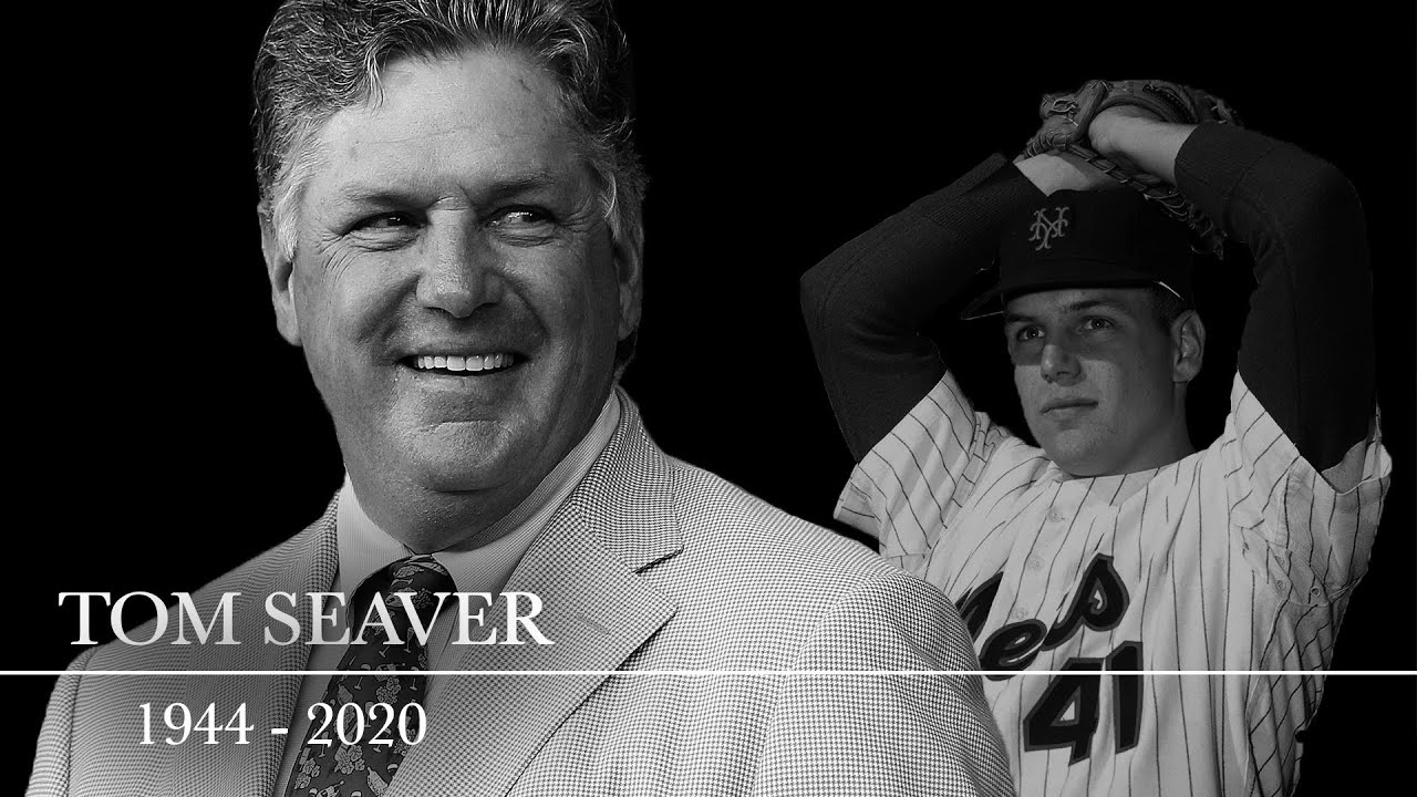 Tom Seaver, Mets legend and Baseball Hall of Famer, dies at age 75 | CBS Sports HQ