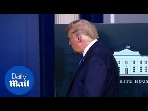 Trump cuts short Breonna Taylor press conference