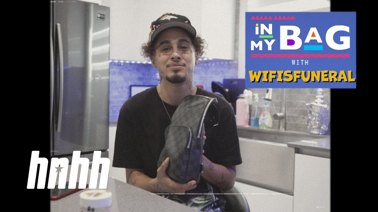 Wifisfuneral Stays with his Mask, CBD Cigarettes & Henny | HNHH's In My Bag (Quarantine Edition)