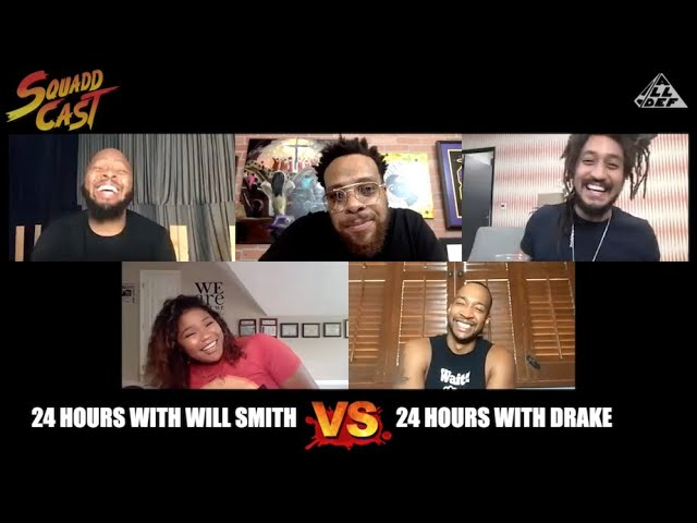 24 Hours W/ Will Smith vs 24 Hours W/ Drake | SquADD Cast Versus | Ep 40 | All Def