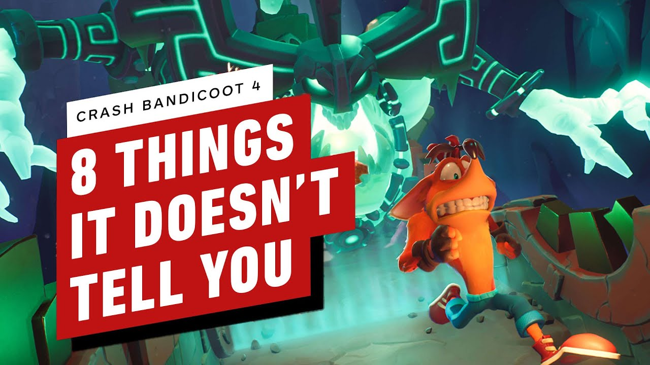 8 Things Crash Bandicoot 4 Doesn't Tell You