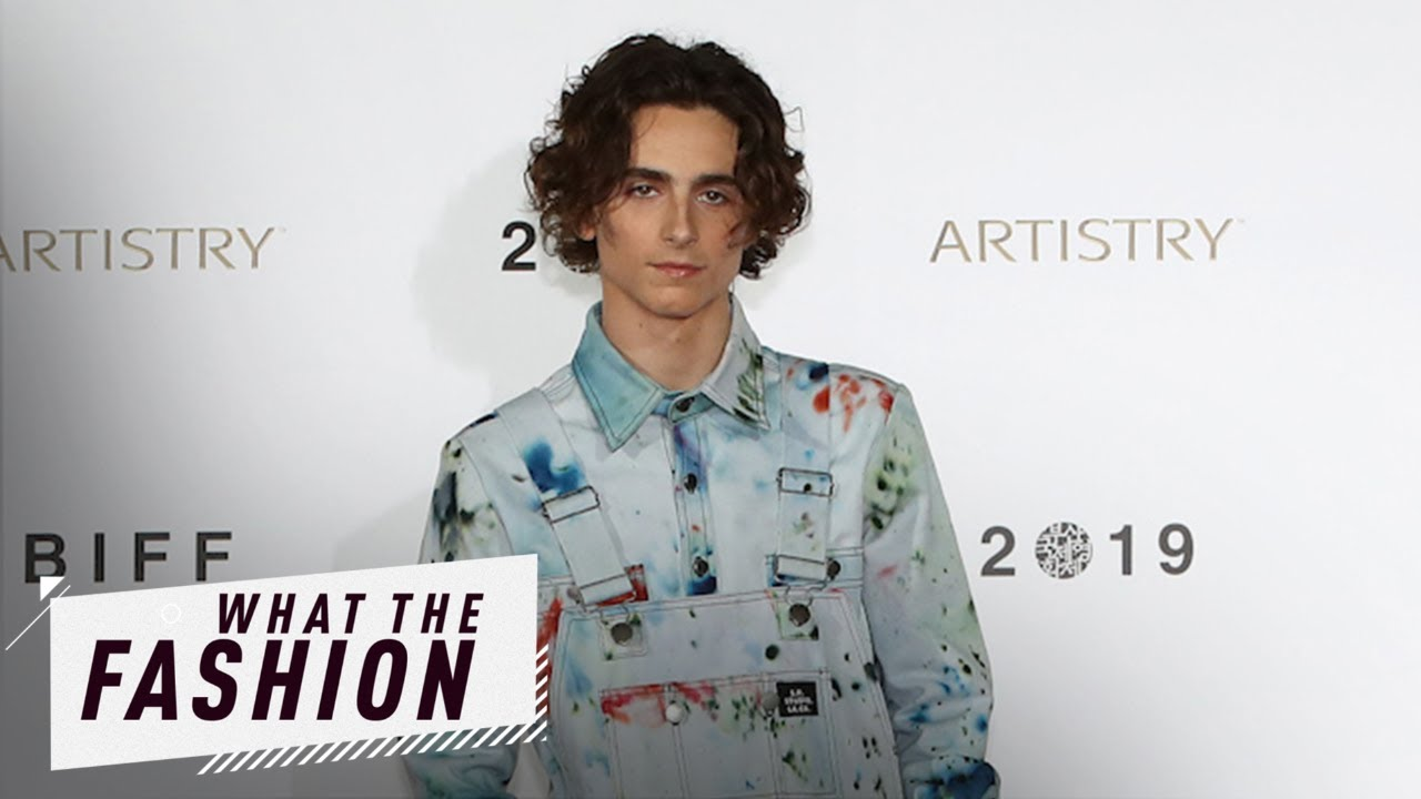 Are We All Over Timothée Chalamet's Overalls? | What the Fashion | S2, Ep. 34 | E! News
