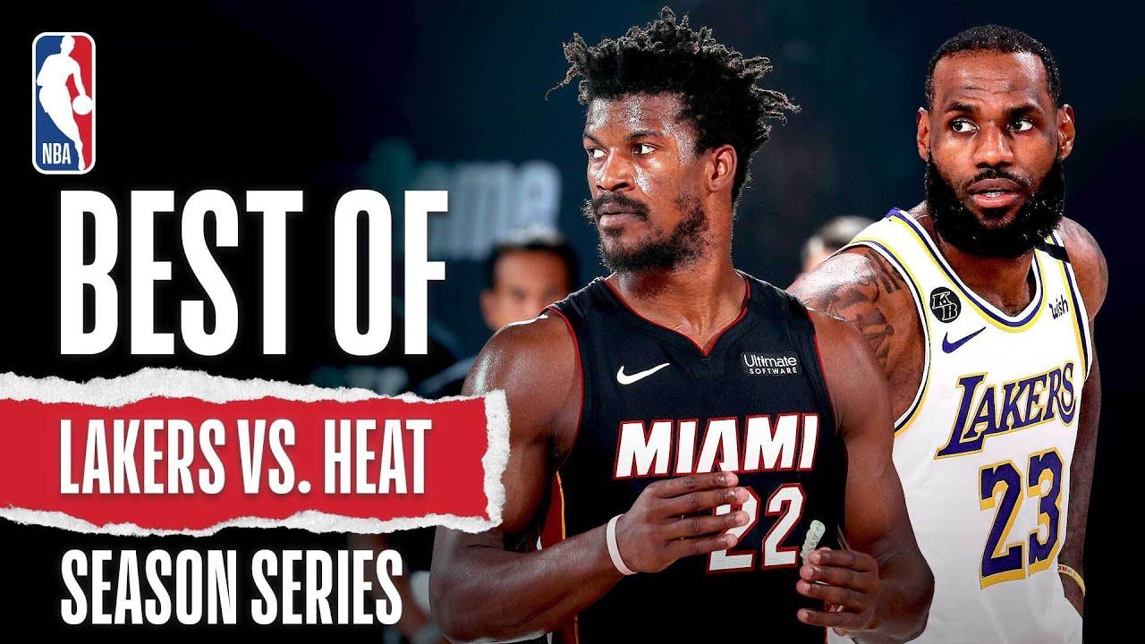 Best Of Lakers vs. Heat 2019-20 Season Series