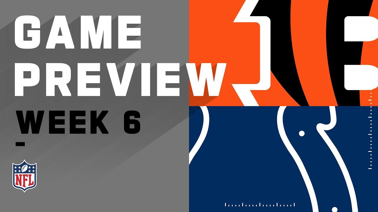 Cincinnati Bengals vs. Indianapolis Colts | NFL Week 6 Game Preview
