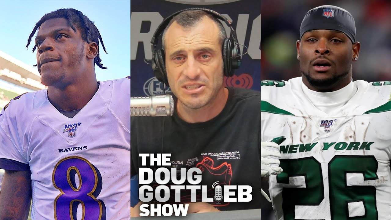 Doug Gottlieb - Teams Are Adjusting to Lamar Jackson and Le'Veon Bell Isn't Good Anymore