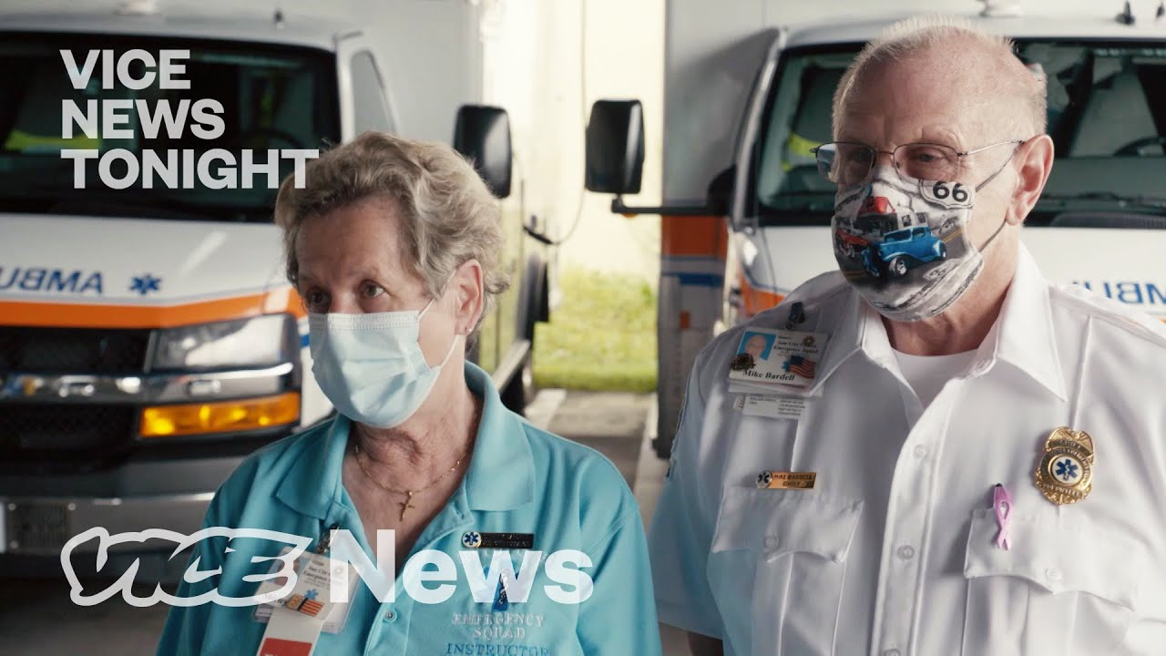 How a Senior Ambulance Crew in Florida is Dealing with COVID