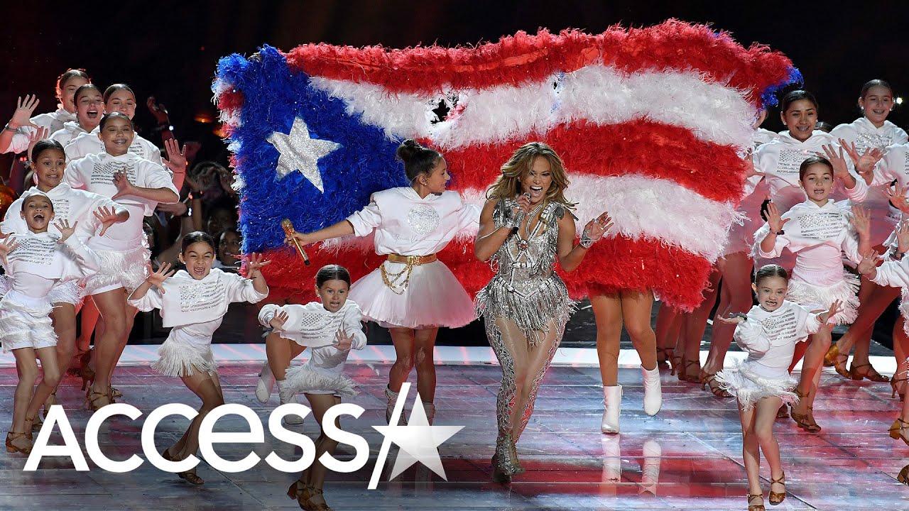 Jennifer Lopez Shares Secrets From 2020 Super Bowl Halftime Performance