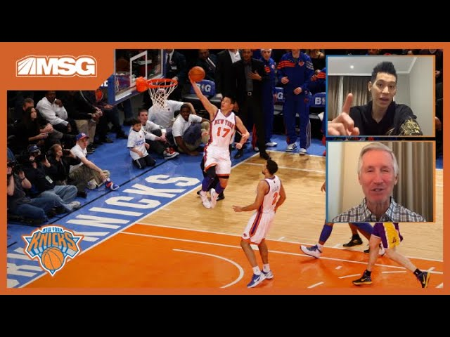 Jeremy Lin and Mike Breen Relive Linsanity's Biggest Moments | New York Knicks