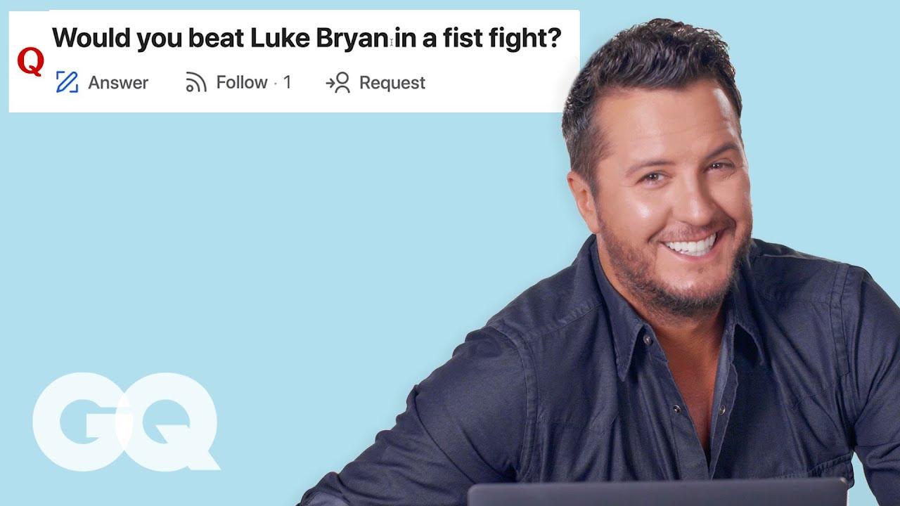 Luke Bryan Goes Undercover on YouTube, Twitter and Instagram | GQ