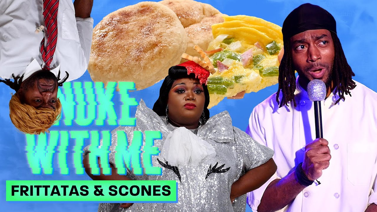 Marlon Makes Frittatas and Scones in His Microwave | Nuke With Me