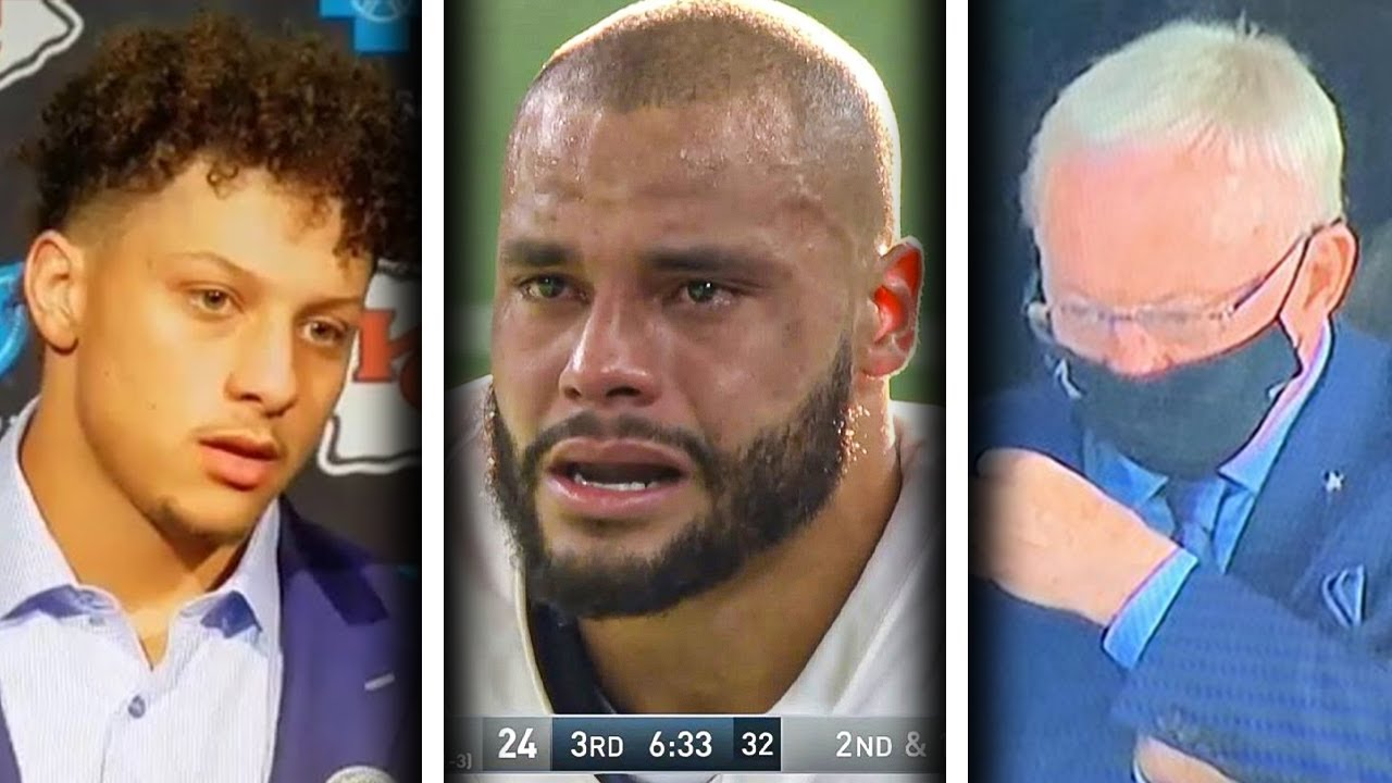 NFL Players REACT to Dak Prescott's HORRIFIC Leg Injury (Patrick Mahomes, Zeke, Carson Wentz & more)