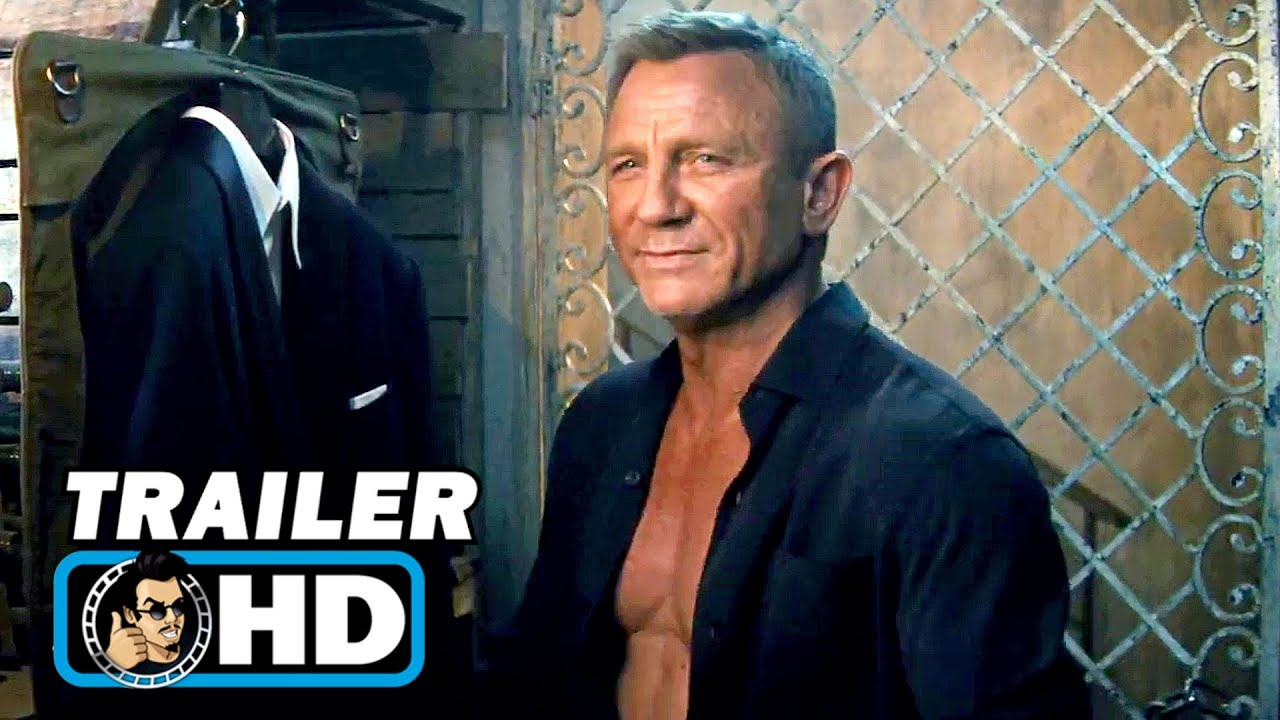 "NO TIME TO DIE ""Omega"" Trailer   NEW (2020) Daniel Craig, James Bond"