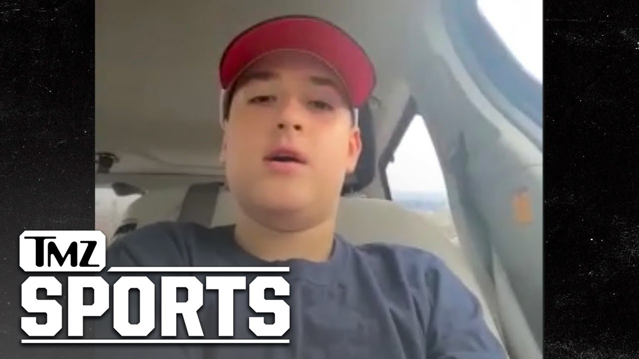 Reilly Hoagland Breaks Down His Special Day With The New Jersey Devils   TMZ Sports