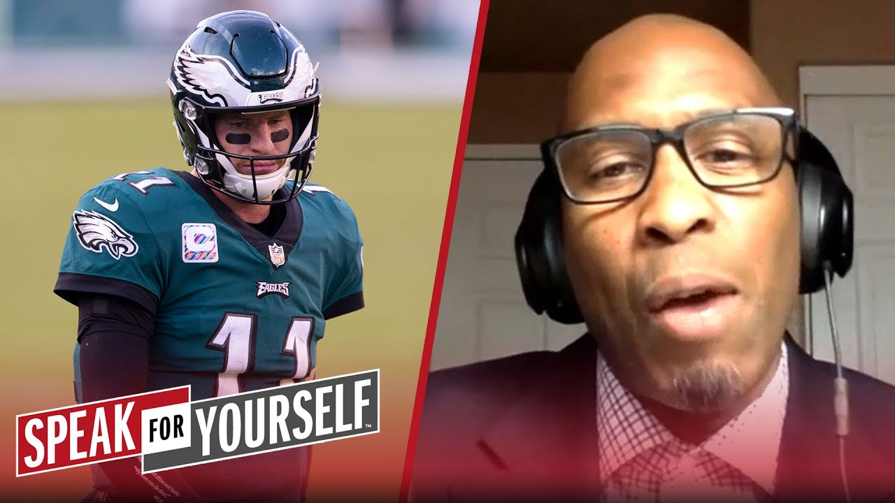 Should the Eagles bench Carson Wentz for Jalen Hurts?   NFL   SPEAK FOR YOURSELF