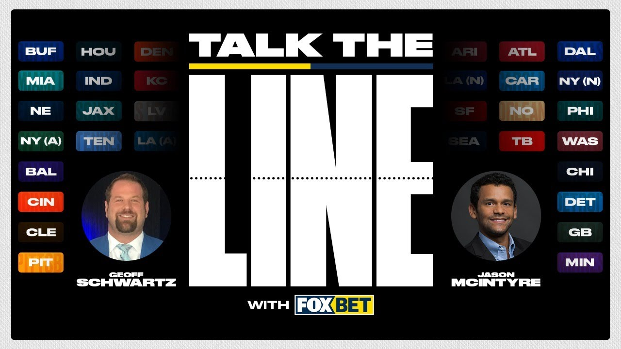 "The Quarter Pole – Week 4 in Pro Football! ""Talk the Line"" with FOX Bet 