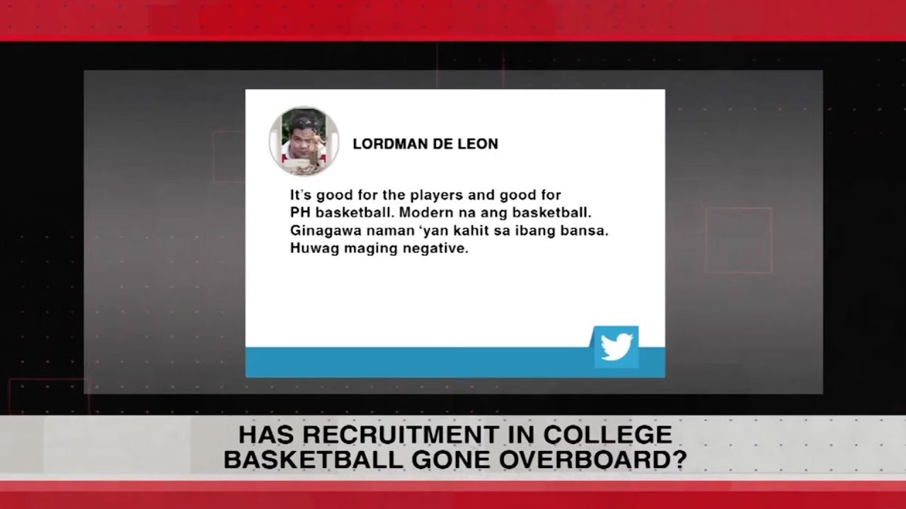 Thoughts on college basketball recruitment