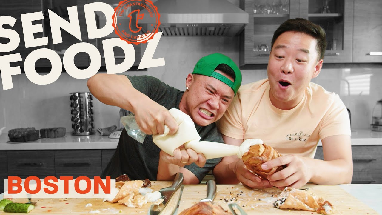 Tim and David Try the Best of Boston | Send Foodz
