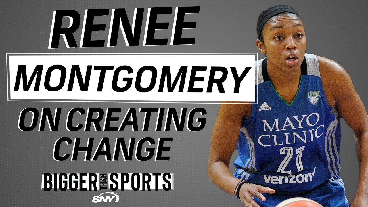 WNBA and UConn star Renee Montgomery addresses social and racial unrest | Bigger Than Sports | SNY