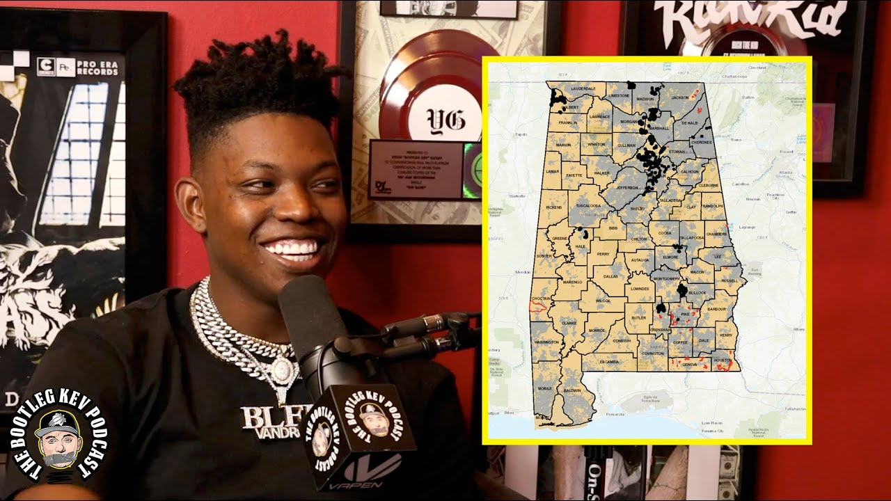 Yung Bleu on the difficulties of being an artist from Alabama (The Bootleg Kev Podcast)