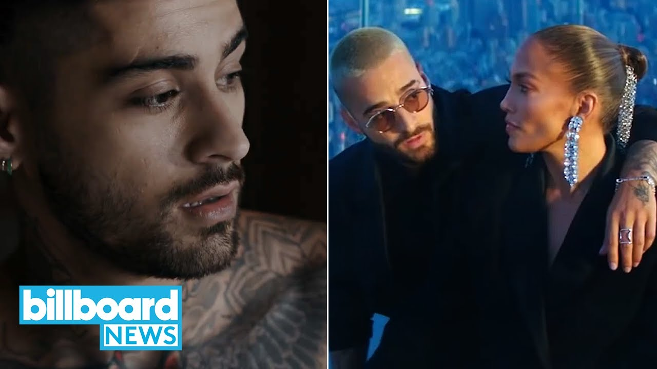 Zayn Malik is Back, J Lo and Maluma Drop Music Video, and More   Billboard First Stream New Music