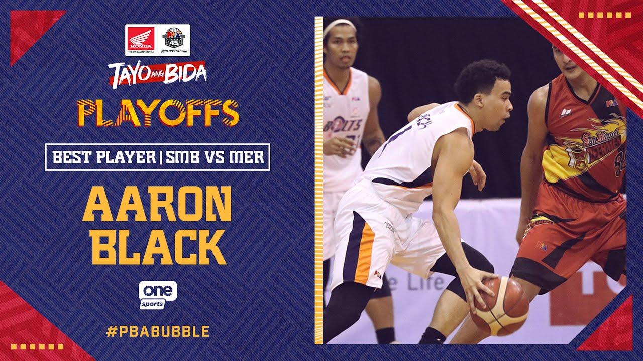 Best Player: Aaron Black   PBA Philippine Cup 2020 Quarterfinals