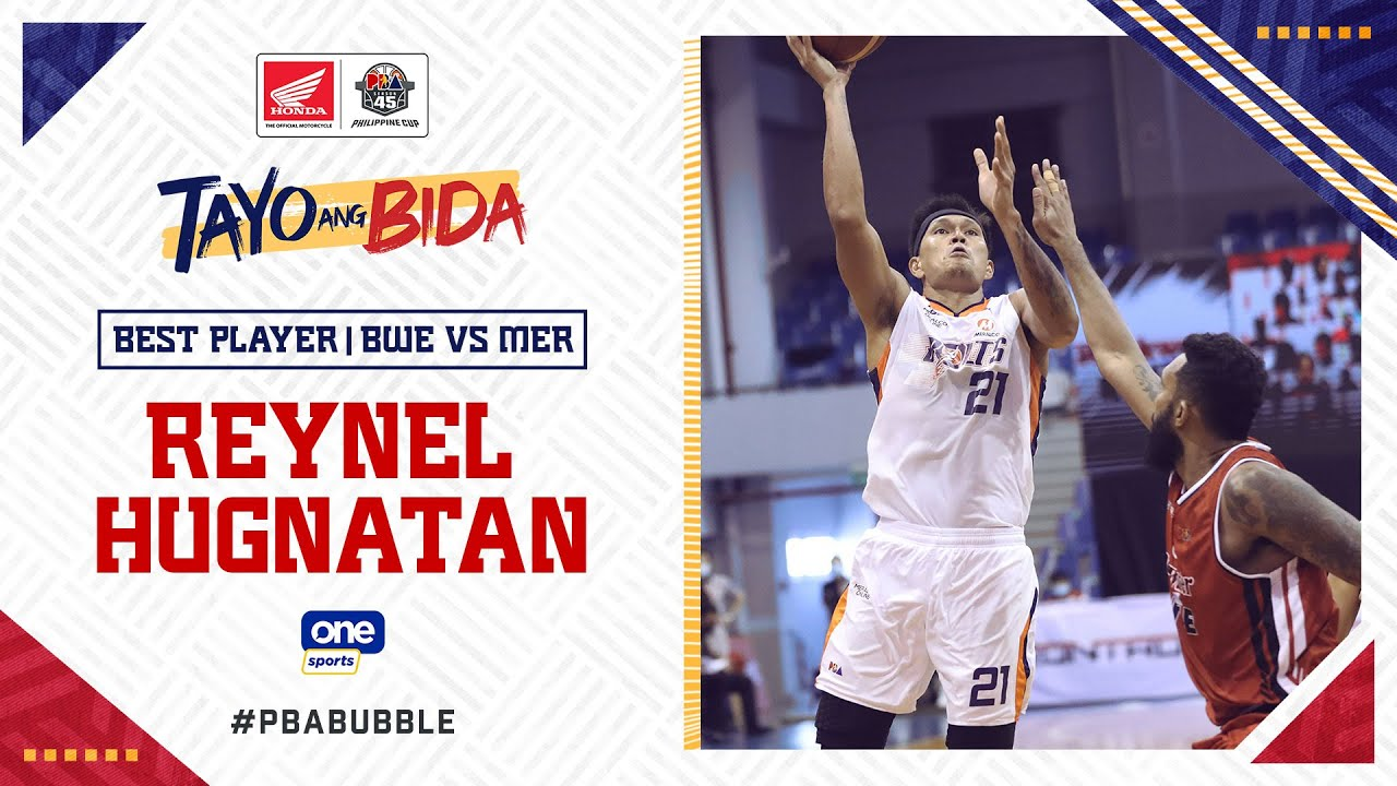Best Player: Reynel Hugnatan | PBA Philippine Cup 2020