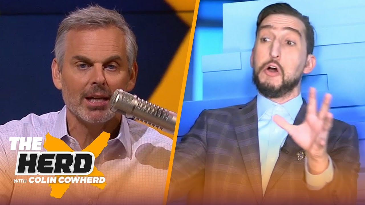 Browns' Baker evaluation, pressure on Tua, Brady/AB combo — Nick Wright discusses | THE HERD