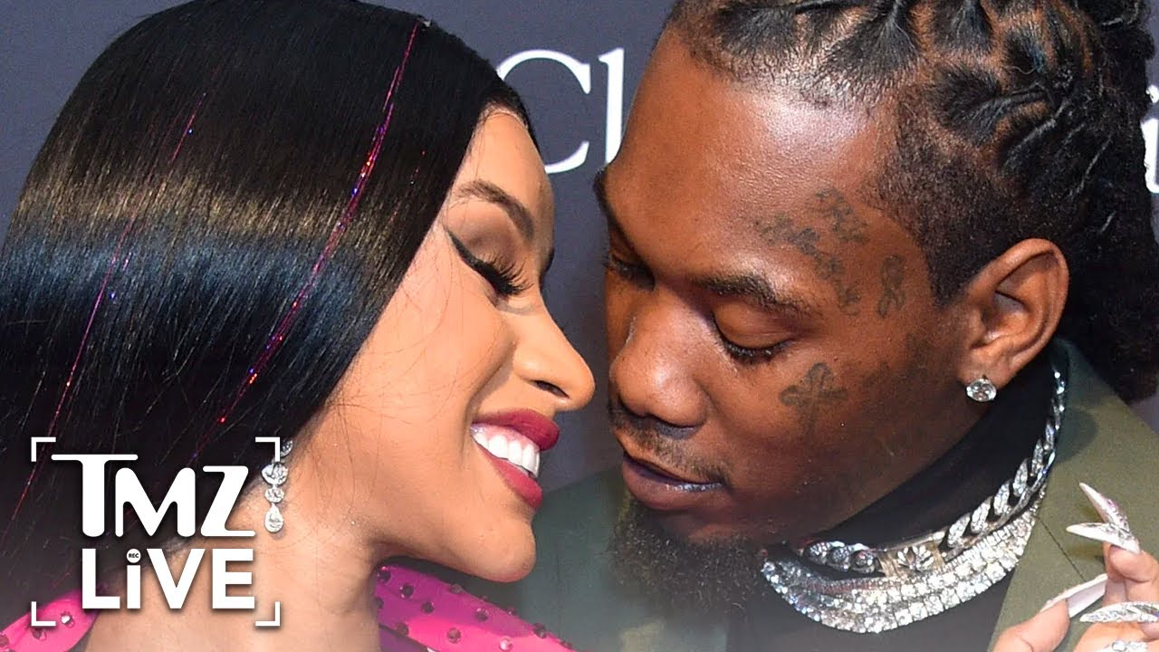 Cardi B Says She's Back with Offset Because She's Crazy and Wanted D | TMZ Live