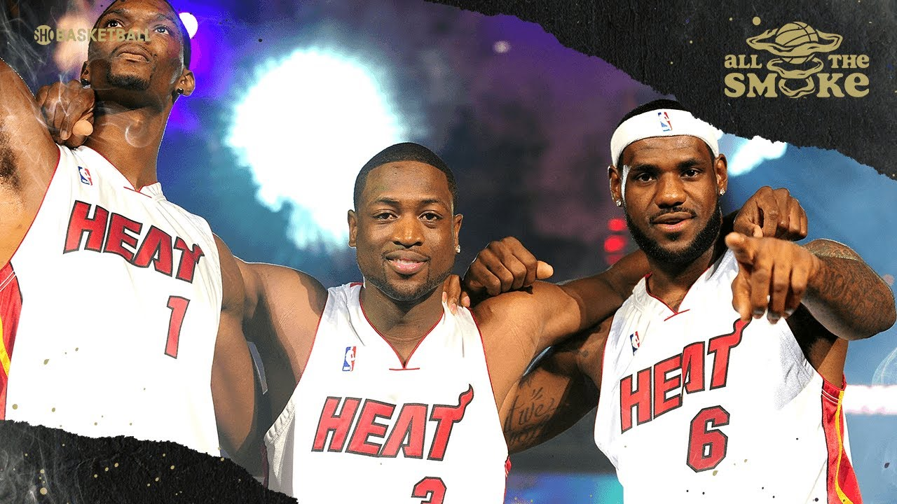 Chris Bosh On Creating Big 3 With Lebron & D-Wade: 'I Just Wanted To Win' | ALL THE SMOKE