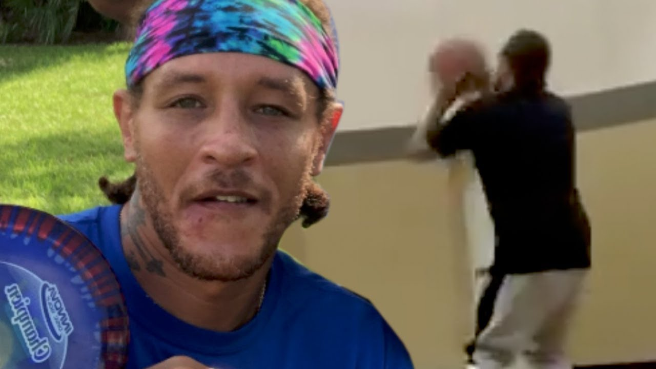 Delonte West Spotted Playing Basketball At His Recovery Center, Looking Happy & Healthy