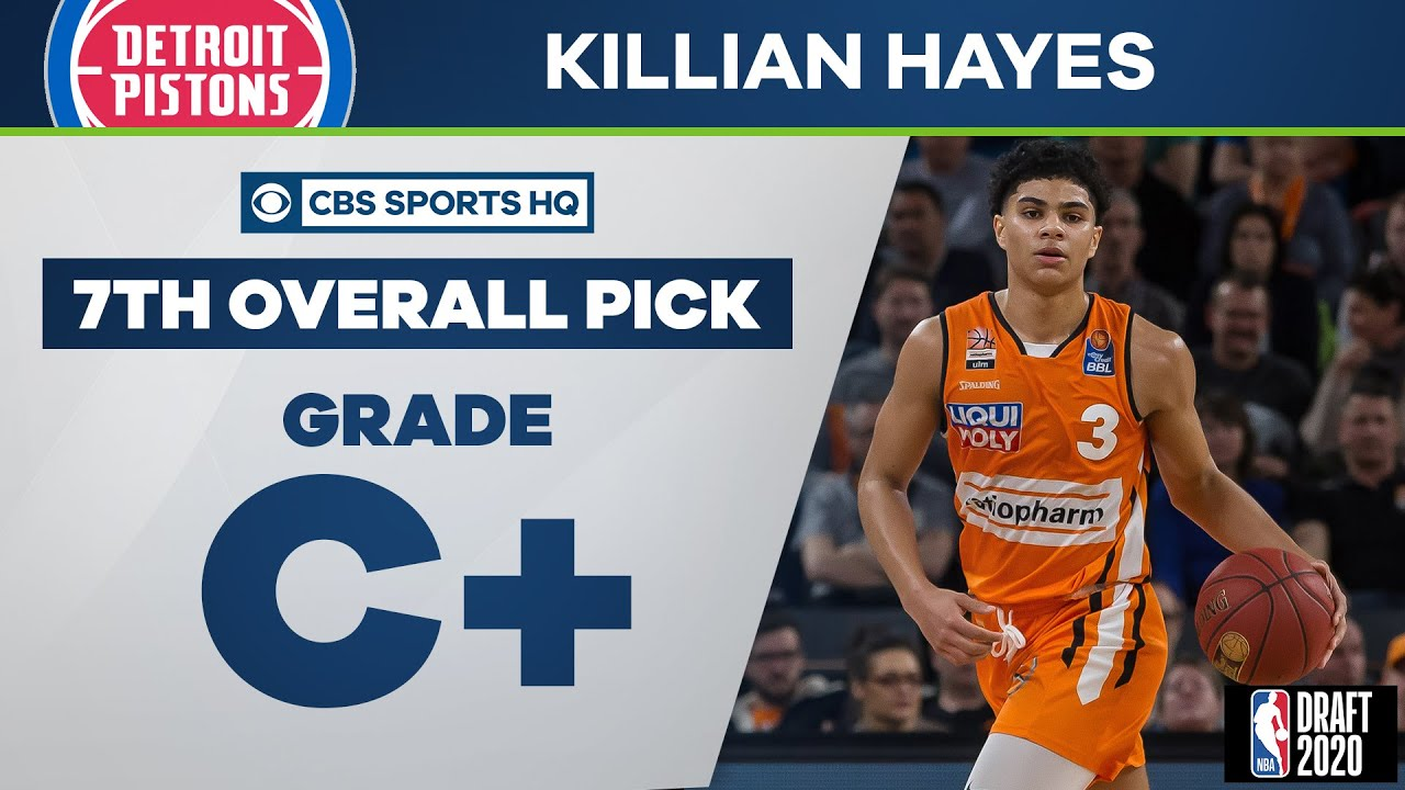 Detroit Pistons select Killian Hayes with the 7th overall pick | 2020 NBA Draft | CBS Sports HQ