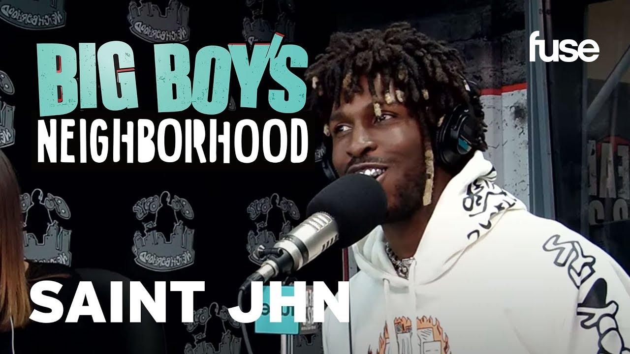 Does SAINt JHN Have An Inside Scoop on Rihanna's #R9? | Big Boy x Fuse