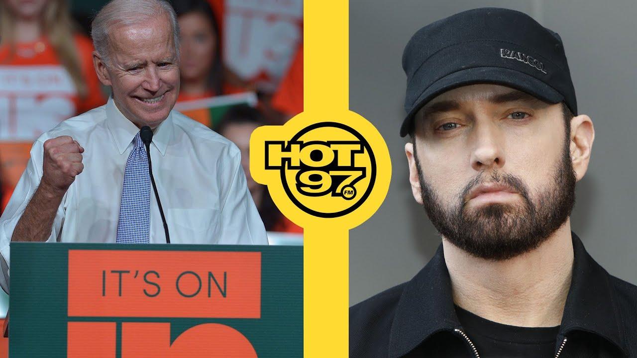 Eminem Approves Joe Biden Ad, + Donald Trump Renames Lil' Pump