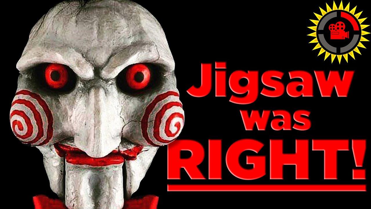 Film Theory:Jigsawwas RIGHT! (Saw Movies)