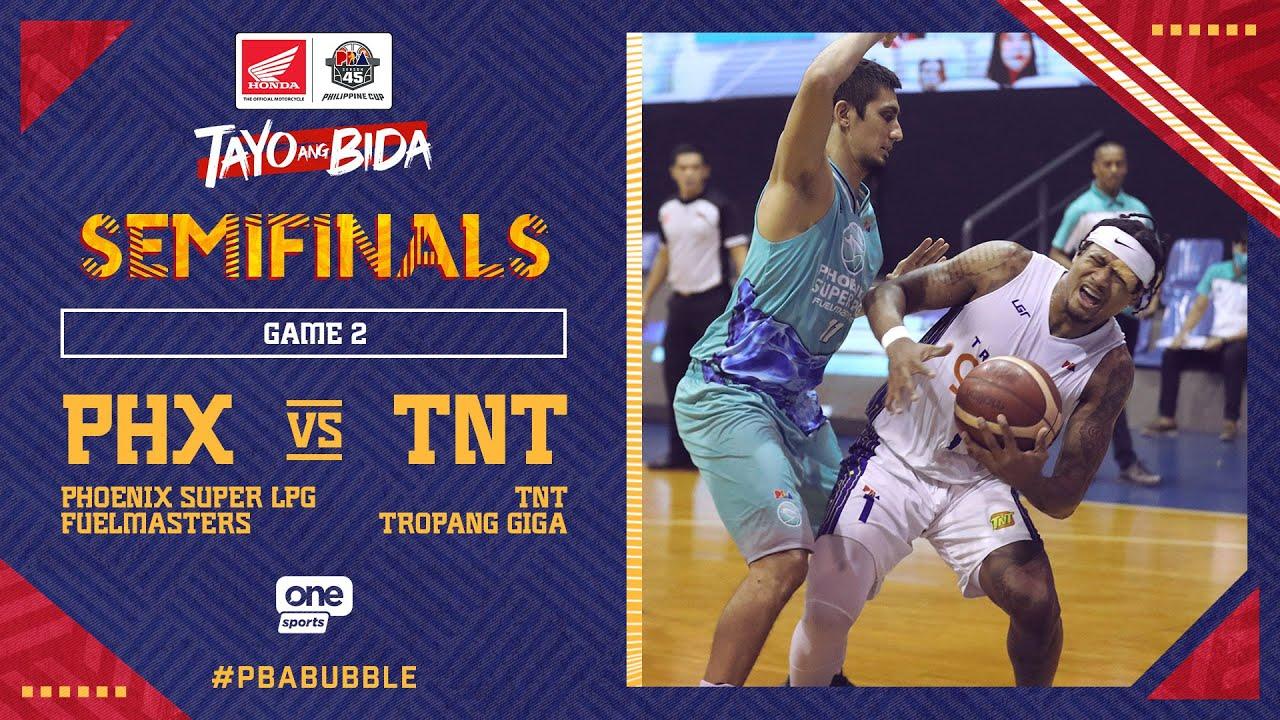 Full Game 2: Phoenix vs TNT | PBA Philippine Cup 2020 Semifinals