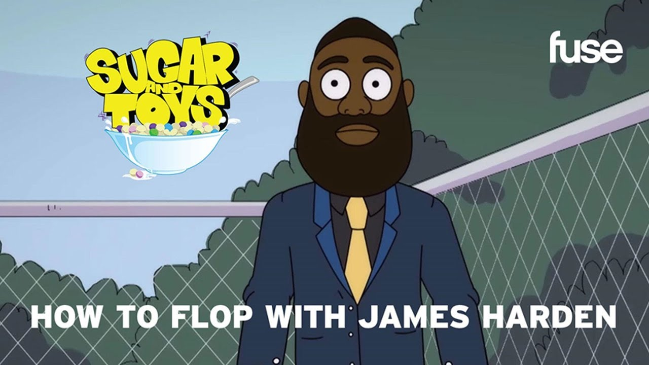 How To Flop With James Harden | Sugar and Toys | Fuse