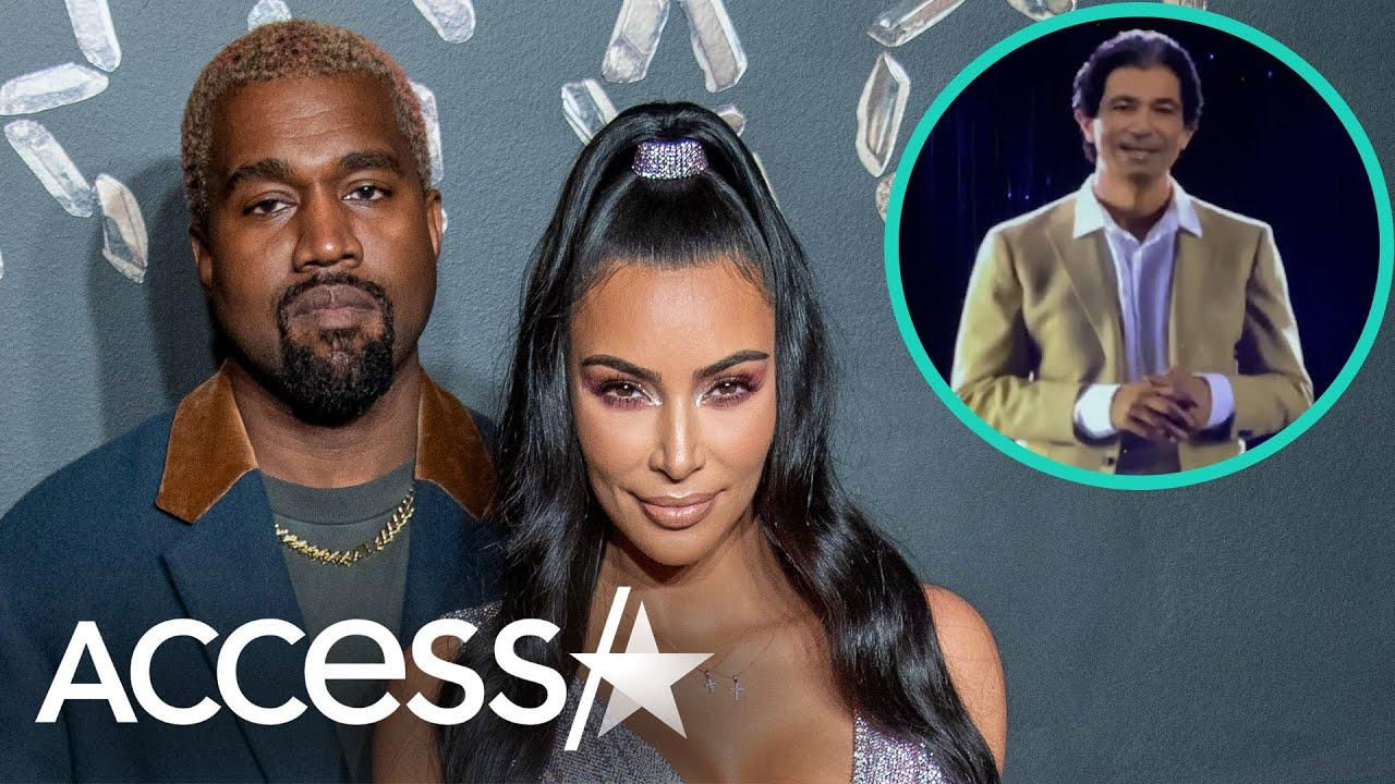Kanye West Gifts Kim Kardashian Hologram Of Dad Robert Kardashian