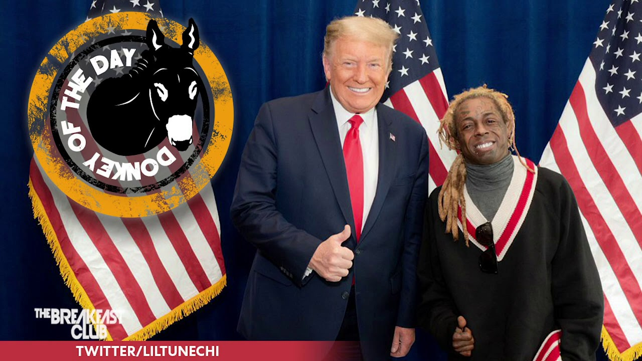Lil' Wayne Endorsed Donald Trump To Distract All Of You!