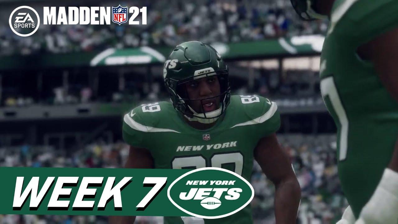 Madden 21: Jets vs. Bills (Week 7)