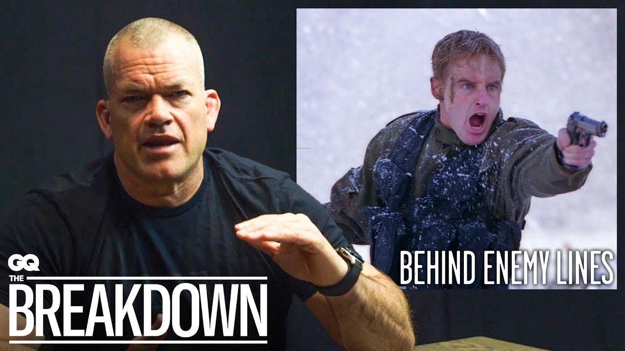 Navy SEAL Jocko Willink Breaks Down More Combat Scenes From Movies Part 3   GQ